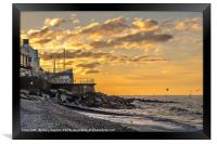 Sheringham Sunset, Framed Print