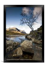 Head of the Glen, Framed Print