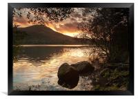Loweswater Sunset, Framed Print