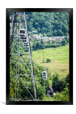 Cable Cars, Heights of Abraham, Framed Print