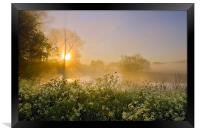 Misty Magic, Framed Print