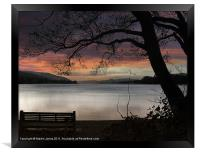 Remembering Campbell At Coniston, Framed Print