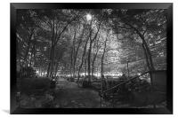 Bryant Park, New York City, Framed Print