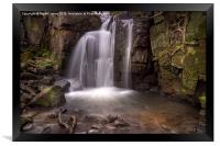 Lumsdale Falls, Framed Print