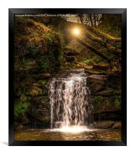 Evening at Thomason Foss , Framed Print