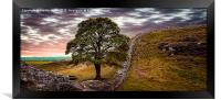 Sycamore Gap - Iconic Northumbria, Framed Print