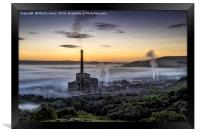 A Derbyshire Dawn over the Hope Valley, Framed Print
