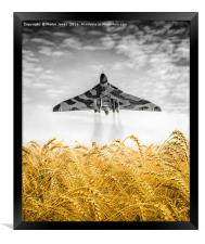The Mighty Vulcan, Framed Print
