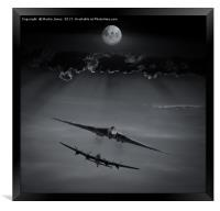Iconic Bombers , Framed Print