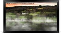 Mist Over Coniston Water, Framed Print