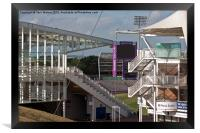 Cricket Ground Southampton, Framed Print