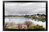 Restronguet Creek in Winter, Framed Print