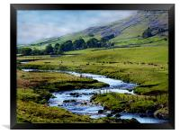 Dales View, Framed Print