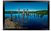 The Old Jetty, Loch Awe., Framed Print