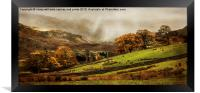 The Engish Lake District, Framed Print