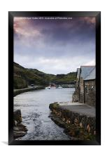 Boscastle Evening, Framed Print