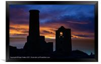 Wheal Coats Tin Mine, Framed Print