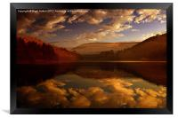 Derwent Waters, Framed Print