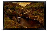 The Small Pool, Framed Print