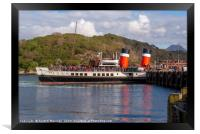 Waverley Docked Gairloch, Framed Print