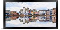 Millport Town, Framed Print