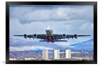 Emirates Take Off, Framed Print