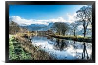 Caledonian Canal , Framed Print