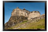 Edinburgh Castle, Framed Print