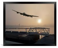 The Dambusters: last one home, Framed Print