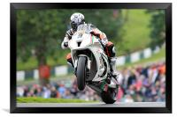 Chris Walker - BSB 2011 - Cadwell, Framed Print