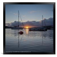 Teignmough Harbour, Framed Print