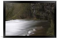 The River Wye, Chee Dale Derbyshire, Framed Print