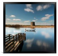 Threave Castle, Framed Print