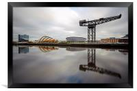 Glasgow Clyde Waterfront, Framed Print