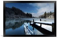Loch Ard in Winter, Framed Print