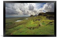 Quiraing and Trotternish, Framed Print