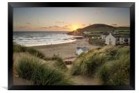 Croyde Bay North Devon., Framed Print