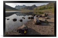 Langdale Pikes and Blea Tarn, Framed Print