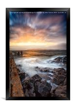 Tomorrow from the jetty, Framed Print