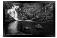 Spectacle ee waterfall, Framed Print