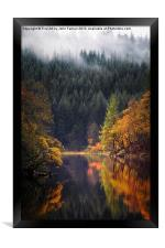 Loch Ard in Autumn, Framed Print