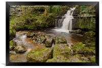 Mystery fall in the Dales, Framed Print