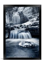 Fresh Falls at Scaleber Force, Framed Print