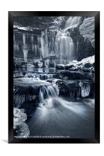 The Falls at Scaleber Force, Framed Print