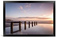 Aldingham Groyne Reflected, Framed Print