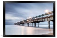Dawn at Boscombe Pier, Framed Print