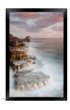 A long Way to Pulpit Rock, Framed Print