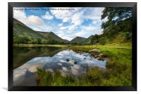 Banks of Brothers Water, Framed Print