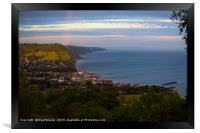 Sidmouth after the storm, Framed Print