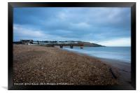 Bowleaze Cove at Winter, Framed Print